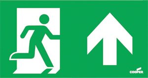 Pictogram noodverlichting Eaton blessing 145-001-003