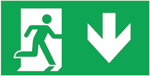 Pictogram noodverlichting Eaton blessing 145-001-004