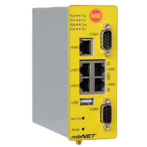 Netwerk Router MB Connect Line MDH 855-AT&T